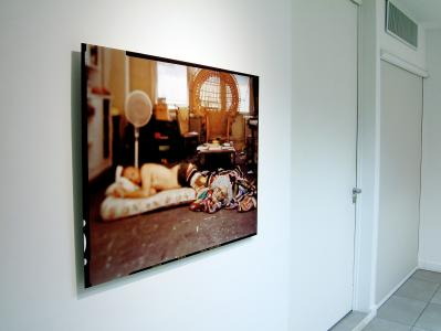 <b>Phénix silencieux</b>, exhibition view, Galerie Norbert Pastor, Nice, 2008