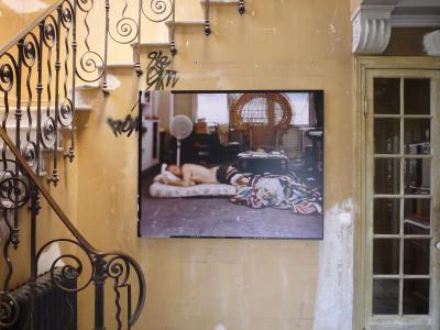 <b>L'herbe rouge</b>, exhibition view, Villa Cameline [Maison abandonnée], Nice, 2011