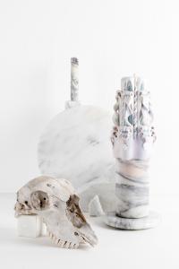 <b>La colonne brisée</b>, photographie couleur, collaboration avec Stéphane Margolis, 2016